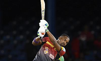 Darren Bravo in action for Knight Riders