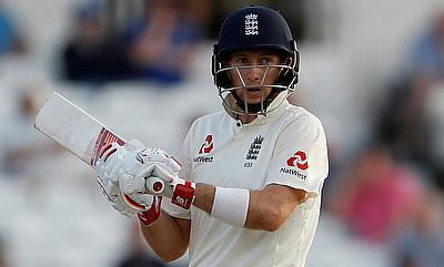 Joe Root remained unbeaten on 45 on day three