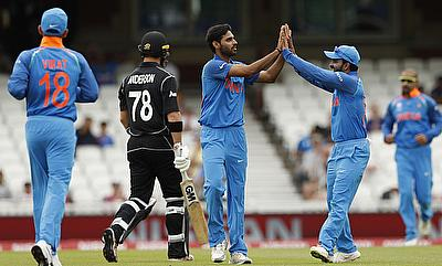 India and New Zealand will feature in three each of ODIs and T20Is