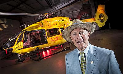 Geoffrey Boycott's celebration dinner raises over £50,000 for the Yorkshire Air Ambulance