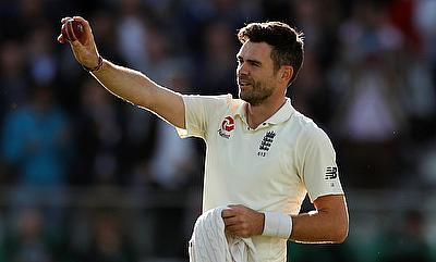 James Anderson was named the player of the series against West Indies