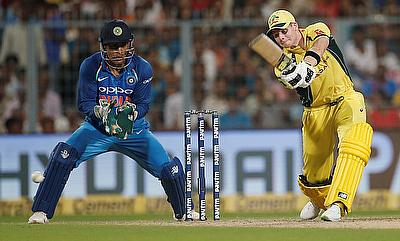 Steven Smith (right) scored a half-century in the second ODI at Eden Gardens