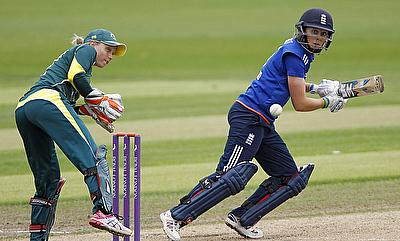 Heather Knight (right) will be captaining England in the Women's Ashes