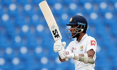 Dinesh Chandimal played a solid knock