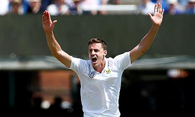 Morne Morkel picked two wickets before leaving the field with injury
