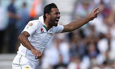 Wahab Riaz picked three wickets in the second innings