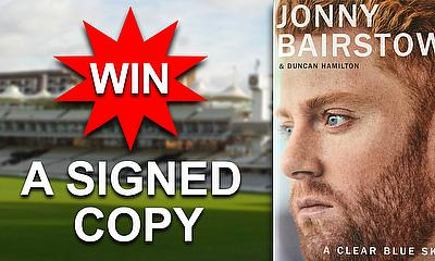 WIN a copy of 'A Clear Sky Blue' by Johnny Bairstow