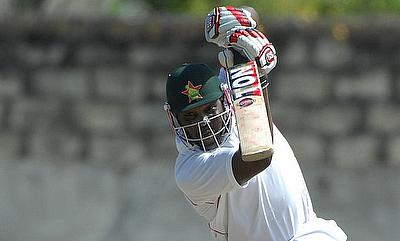Hamilton Masakadza led Zimbabwe's fightback on day one