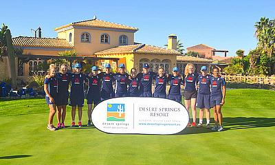 ECB England Women's Senior Academy completes successful 7-Day S&C & Fielding training camp at Desert Springs