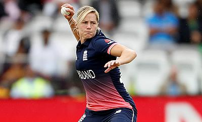 Katherine Brunt had a terrific all-round game