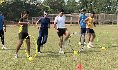 Fast Bowling Hurdle Drills with Chinmoy Roy