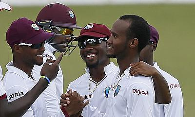 Kraigg Brathwaite (right) was fined 40 percent of his match fees