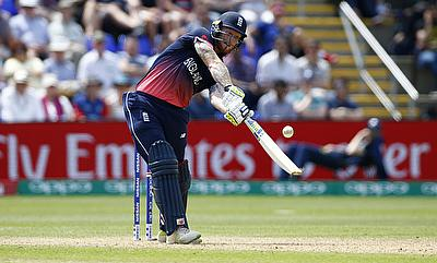 Ben Stokes scored 93 runs for Canterbury