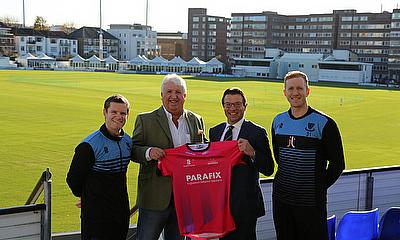 Parafix extend One-Day Cup shirt sponsorship of Sussex Cricket
