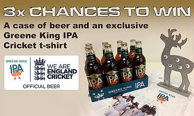 Win a Case of Greene King IPA Beer & T-Shirt