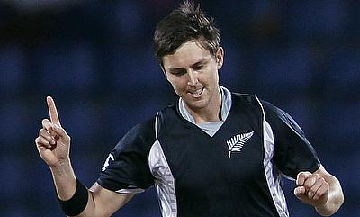 Trent Boult registered his career best figures in ODIs