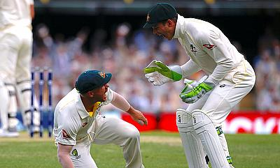 Tim Paine (right) is set to feature in the Boxing Day Test