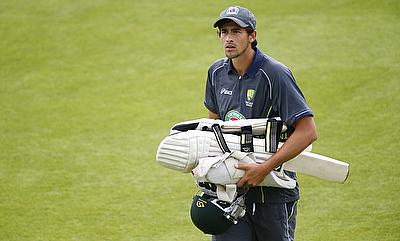 Ashton Agar has recovered from a finger injury