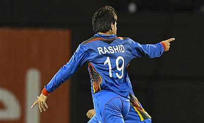Rashid Khan impressed once again
