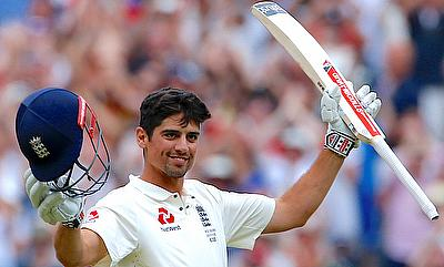Alastair Cook scored his fifth double century