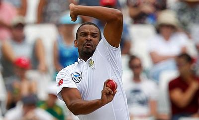 Vernon Philander claimed the man of the match for his six-wicket haul