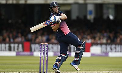 David Willey scored 55 runs in the chase