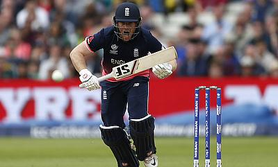 Eoin Morgan led from the front with an unbeaten 81