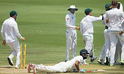 Cheteshwar Pujara was run out in both the innings
