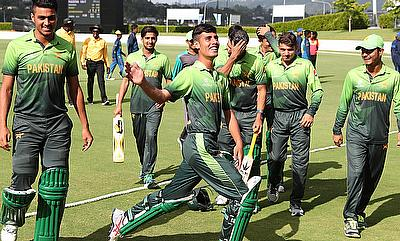Pakistan are through to the semi-final of the ICC U19 World Cup