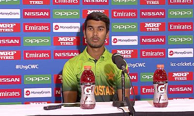 Hassan Khan on India v Pakistan | ICC u19 World Cup 2018