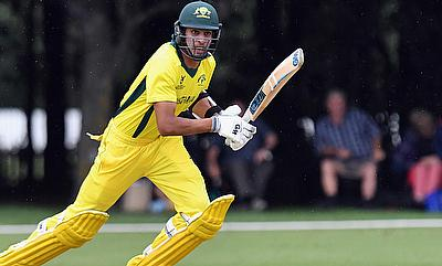 Jason Sangha has led Australia to the final of the ICC Under 19 World Cup