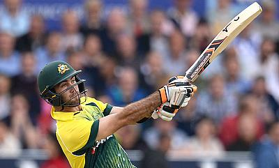 Glenn Maxwell scored 10 boundaries and four sixes