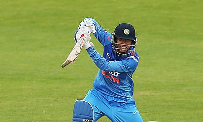 Smriti Mandhana came up with a terrific knock