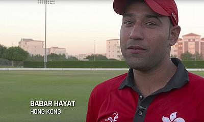 Hong Kong's Babar Hayat on the Cricket World Cup Qualifier 2018