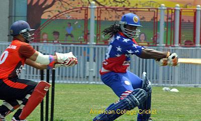 Adrian Gordon (NYU-Poly) scorer of our Highest tournament score 145* in 2011 Nationals