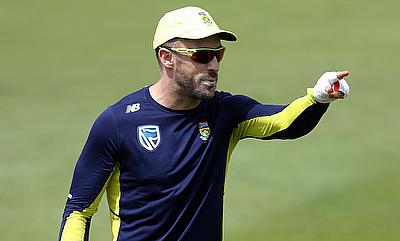 Faf du Plessis suffered a finger injury