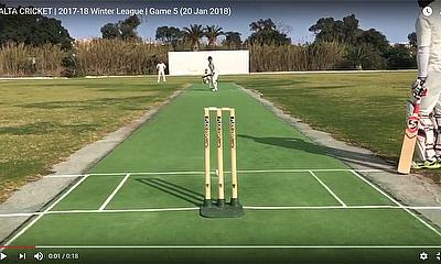 Malta Cricket 2017-18 Winter League - Game 5
