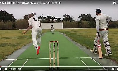 Malta Cricket 2017-18 Winter League - Game 7