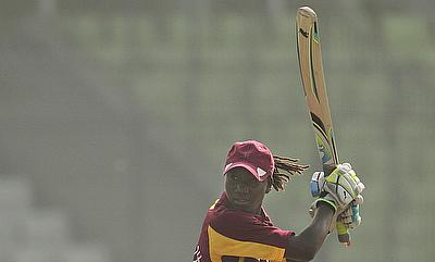 West Indies chased down the target in 34 overs