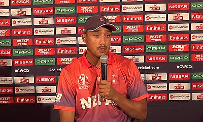 Post Match Press Conference: Graeme Cremer and Paras Khadka