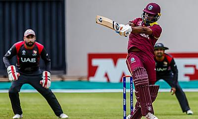 Evin Lewis (right) will be key for West Indies