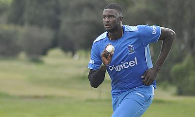Jason Holder run-up