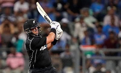 Ross Taylor's blitzkrieg at Dunedin help New Zealand cruise to comfortable win