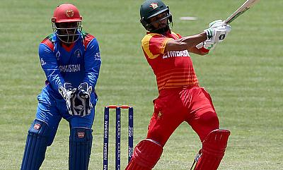 Mohammad Shahzad (left) will miss the next two games for Afghanistan