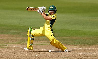 Nicole Bolton in action for Australia Women's