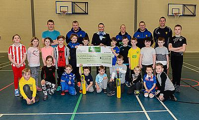Sponsorship 'follow-on' for Young Cricketers