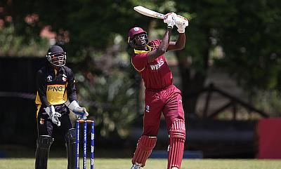 Jason Holder (right) will look to build on the momentum gained from the game against PNG