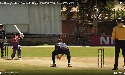 Video Highlights from Scotland v Nepal