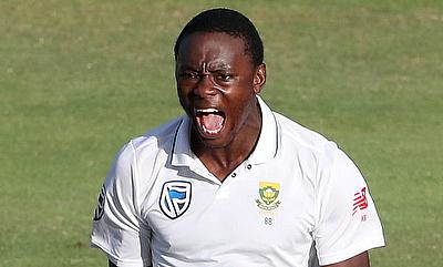 Kagiso Rabada picked three wickets in the second innings