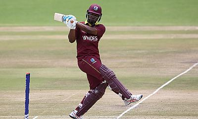 Evin Lewis came up with a match winning performance against Netherlands